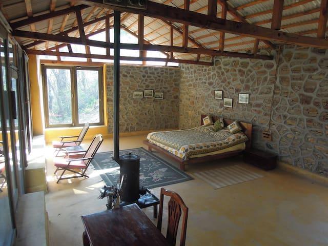 Aashraya on Ganga - Middle Cottage - Rumah Bumi