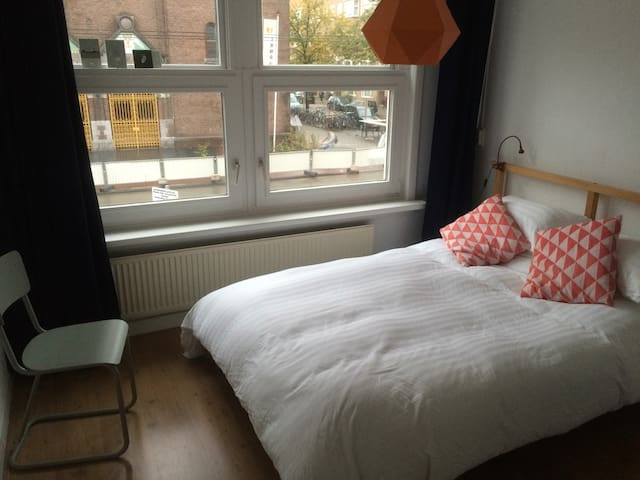 Bright Double Room, 1st floor apt