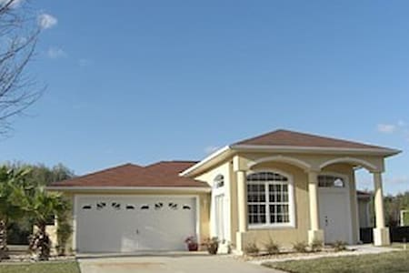 INVERNESS-FLORIDA-GOLFRESORT  WITH  FREE GREEN FEE - Inverness - Villa