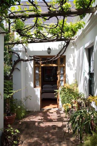 Verandah room entrance