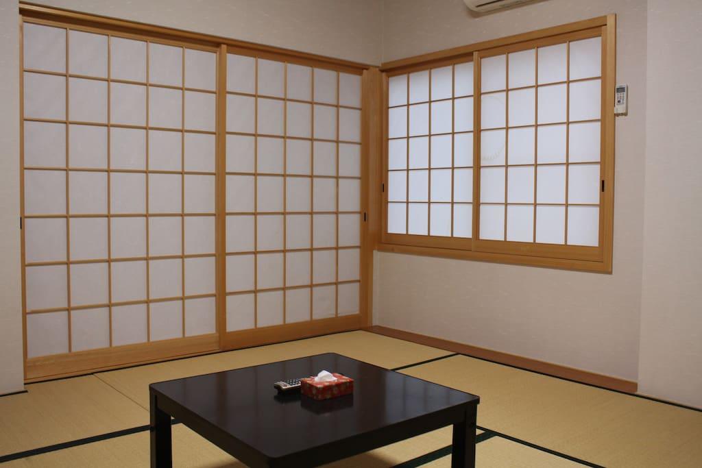 和室は日本人の他に 外国人のお客様にも大好評♪