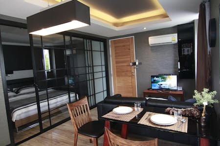 Contemporary 1 Bed @S Bloc Silom - กรุงเทพมหานคร - Bed & Breakfast
