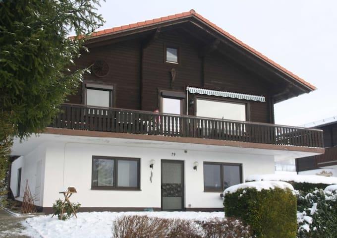 Familienfreundlich und schön EG 79 - Arrach - Apartament
