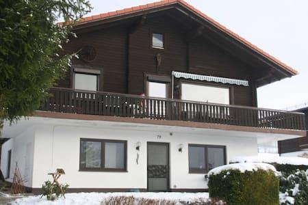Familienfreundlich und schön EG 79 - Arrach - Appartement