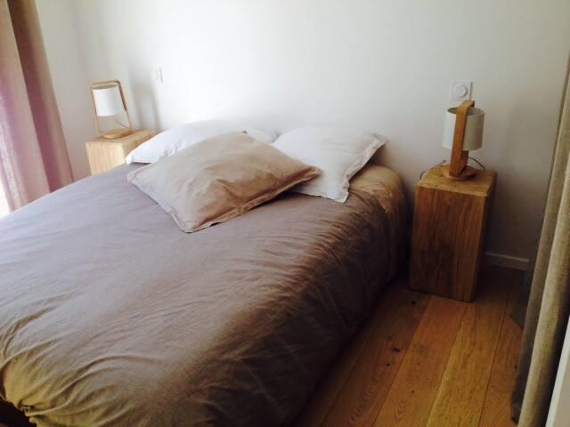 Chambre pour 2 personnes RDC - Azur - Bed & Breakfast
