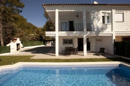 Alcossebre, belle villa  piscine, vue mer et Wifi - Alcossebre