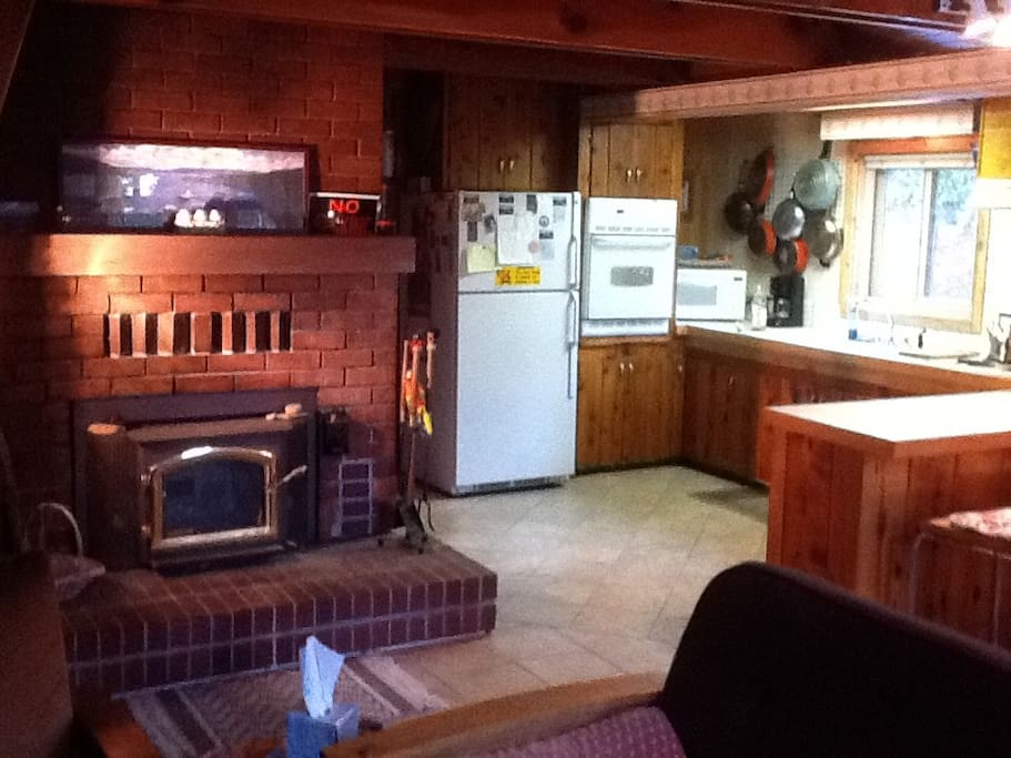 Enjoy the Wood Burning Stove in the Winter