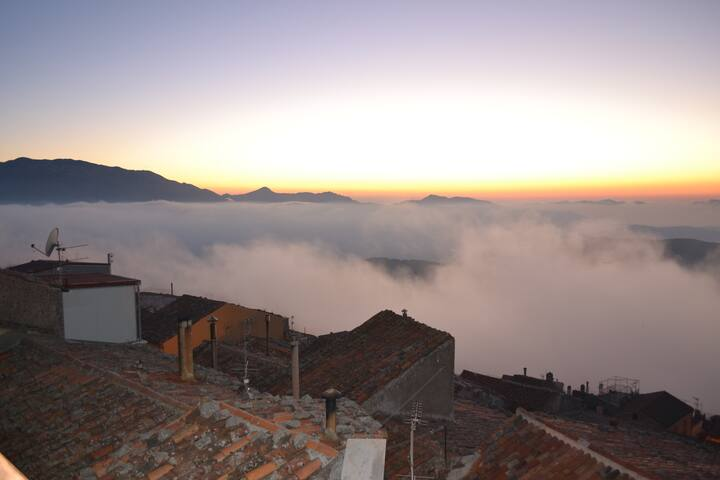 Casa Panoramica in borgo antico - San Mauro Castelverde - Apartamento