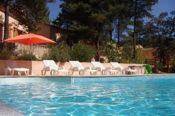 Maison indépendante avec piscine - Vagnas - Huis