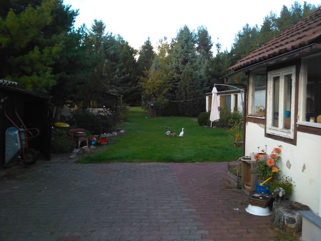 Schorfheide , Haus am Waldrand - Zehdenick