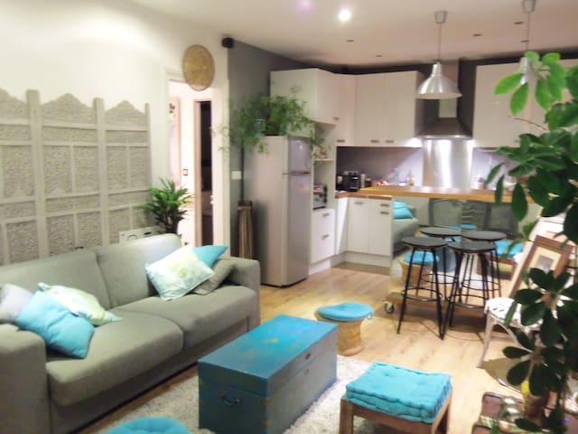 Charmant 2p lumineux à Pontoise - Pontoise - Apartamento