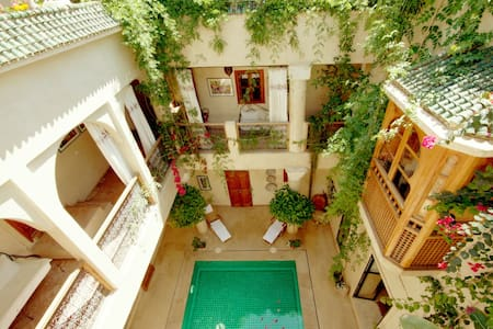 Comfortable Room, traditional Riad