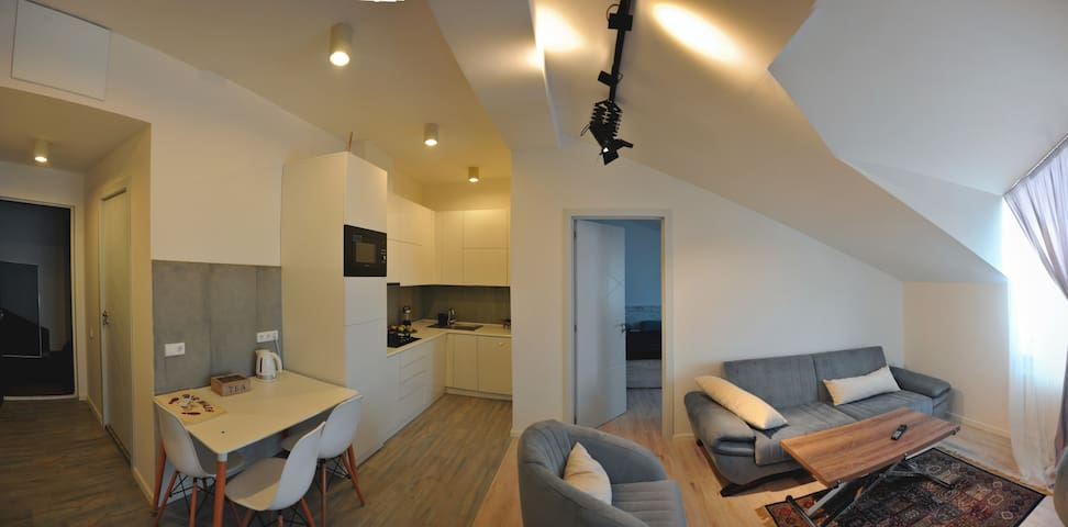 White Apartment in Saburtalo District - Tbilisi - Appartement