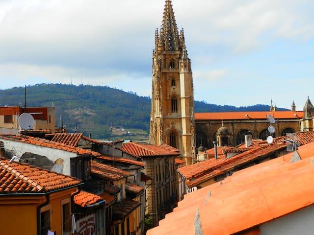Al lado de la catedral - Oviedo - Lägenhet