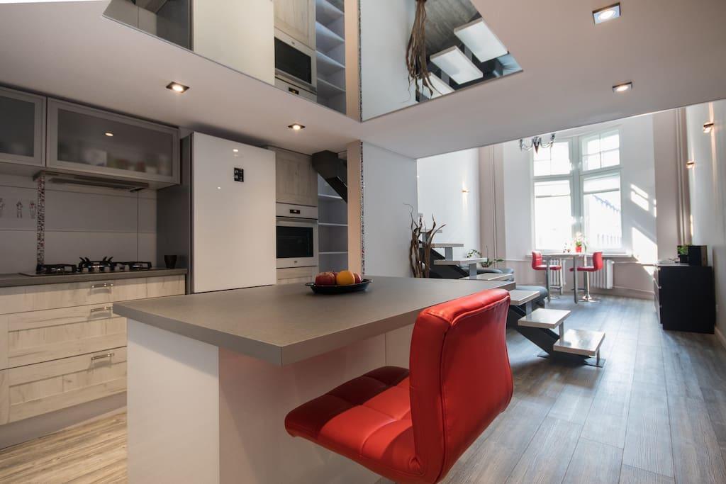 Kitchen open space