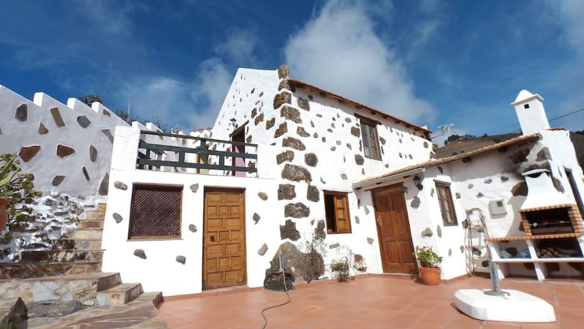 Tiñor, pueblo más pequeño Canarias - Tiñor - Casa