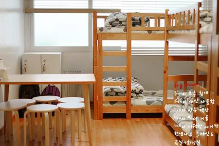 6-bed room_Byulbam Guest House - Buk-gu - Bed & Breakfast