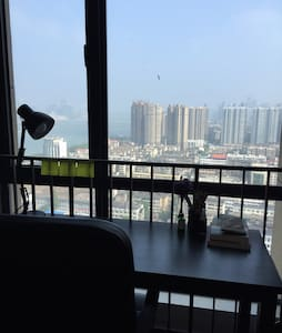 顶楼江景房 Top floor with river view - Appartement