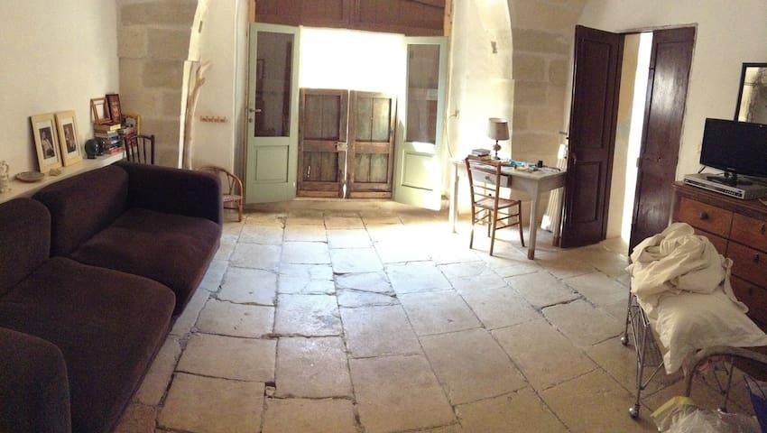 PALAZZETTO D'EPOCA NEL SALENTO - Giuggianello - บ้าน
