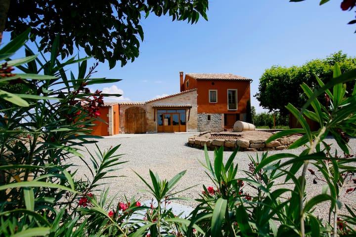 Acogedora casa rústica en el campo - La Fuliola - Villa