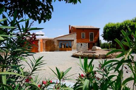 Acogedora casa rústica en el campo - La Fuliola