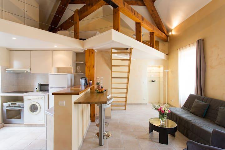 Loft facing Le Suquet