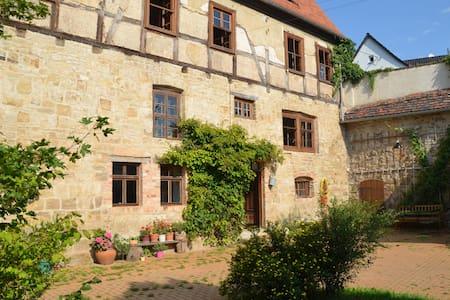 romantische Wassermühle Zappendorf - Salzatal - Rumah