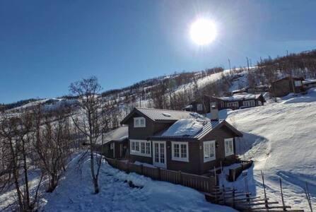 Ski inn/Ski out, Wonderfull cottage - Geilo - Blockhütte