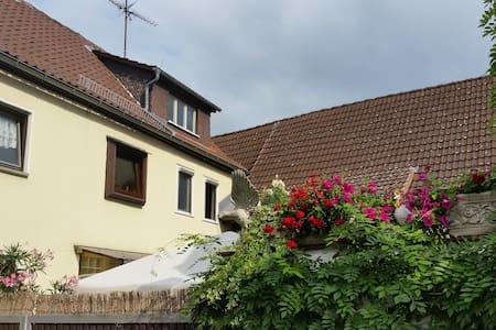 Gemütliches Zimmer mit Doppelbett in OF-Rumpenheim - Offenbach am Main - ที่พักพร้อมอาหารเช้า