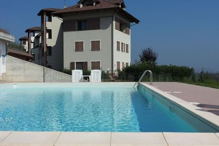 Elegante appartamento con piscina - Borgonovo