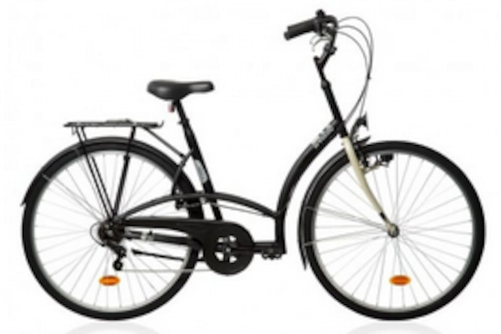 Disponibles 2 bicicletas de paseo para alquiler. / Two bikes available for rent.