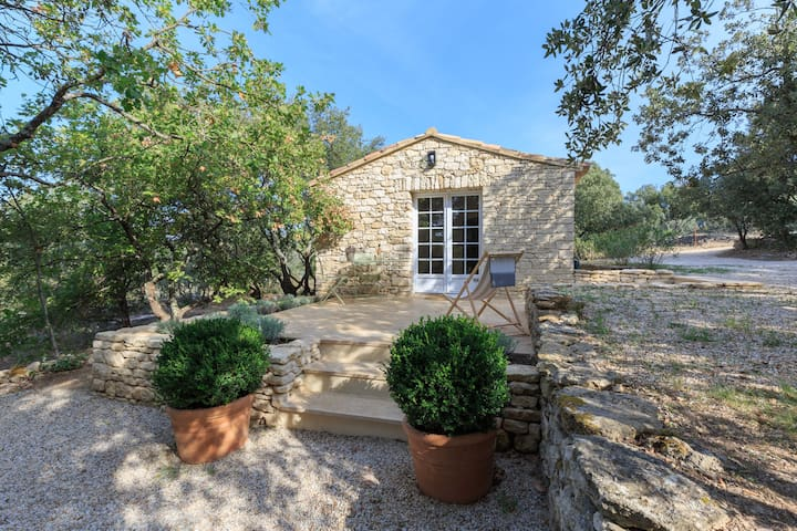 Gordes,bastidon (stone cottage),nature and comfort - Gordes - Dom