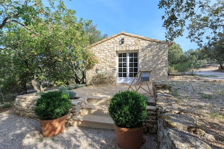 Gordes,bastidon (stone cottage),nature and comfort - Gordes