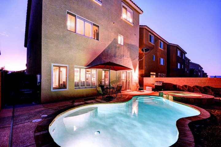 EXCELLENT LOCATION! 5MINS TO LV STRIP! POOL 3STORY