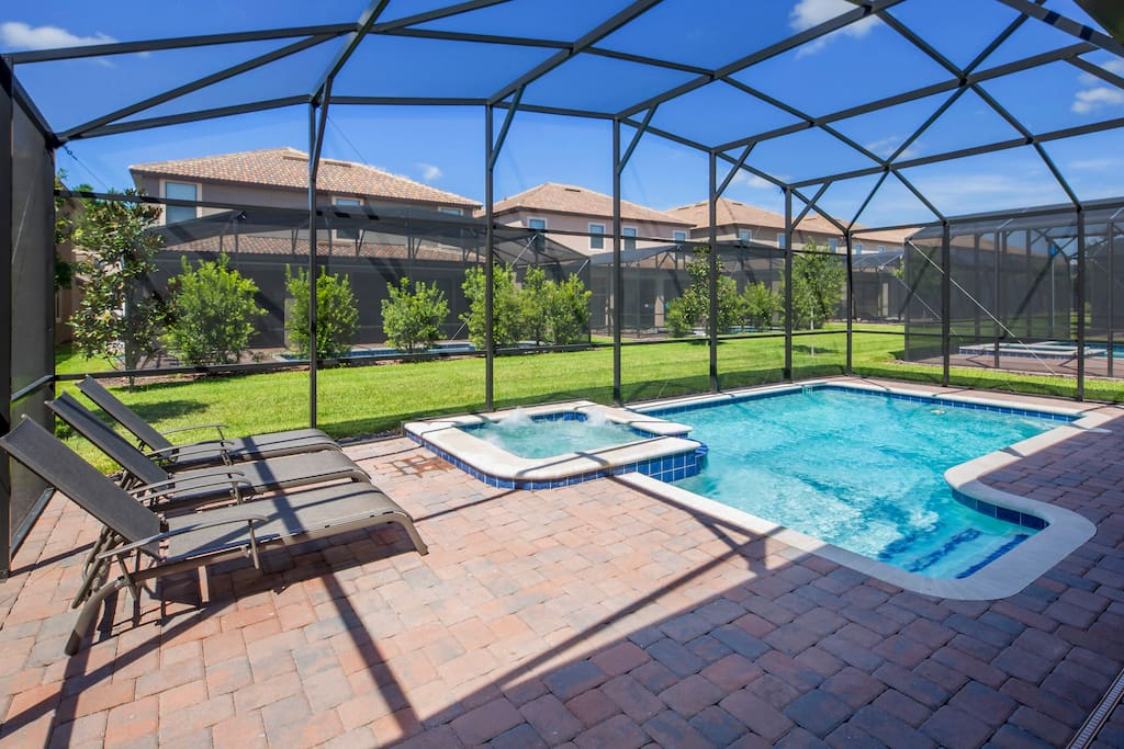 Come and enjoy the vacation of a lifetime here in Florida - but be sure to spend at least a couple of days relaxing in and around the crystal clear waters of our pool and extended, sun-splashed deck.