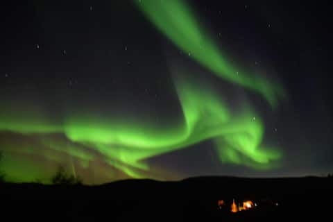 Hub Helgeland Aurora borealis
