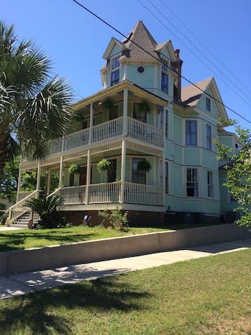 One of Pensacola's most majestic Victorian mansions.