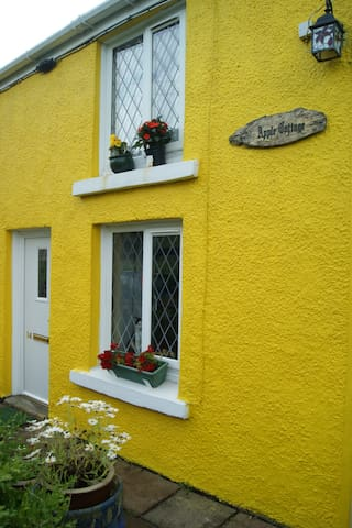 lovely traditional stone cottage - Gwaun-Cae-Gurwen - Hus