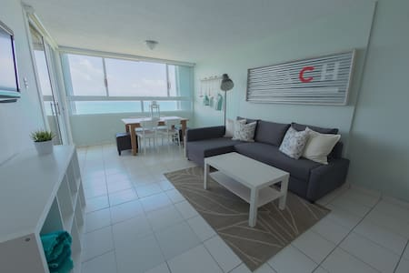 Serene beach apt. with Breath taking ocean view!