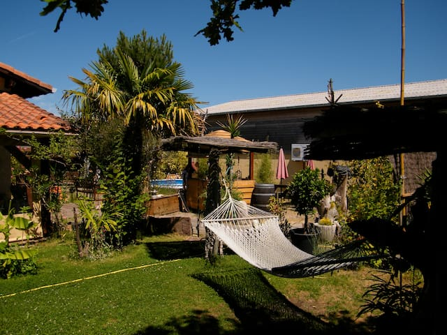 maison ou chambre styl exotic plage - Soorts-Hossegor - House