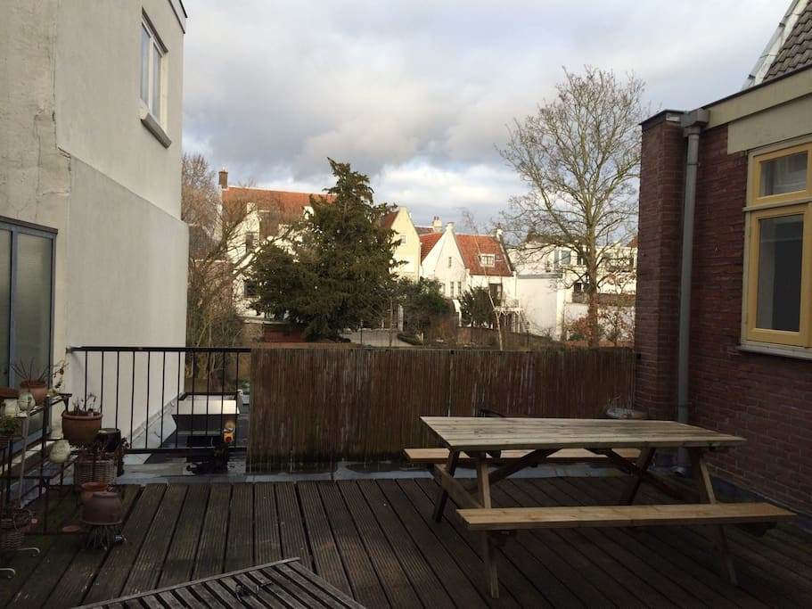 The terrace (shared)
