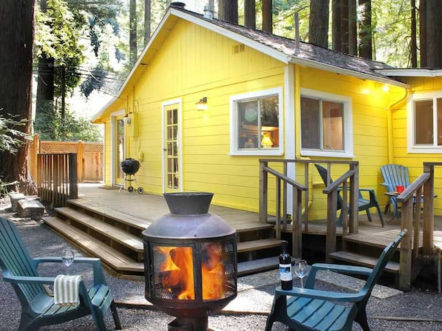 LEMON DROP: Redwoods | Woodstove | Sauna | Fenced - Cazadero - Casa