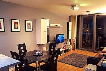 New Olympic Apartment WIFI Balcony