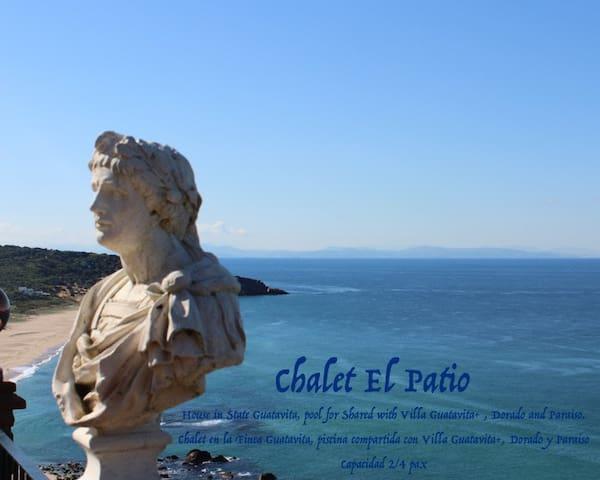 """Chalet """"El Patio"""" 2/4 persona - Zahara de los Atunes - Haus"""