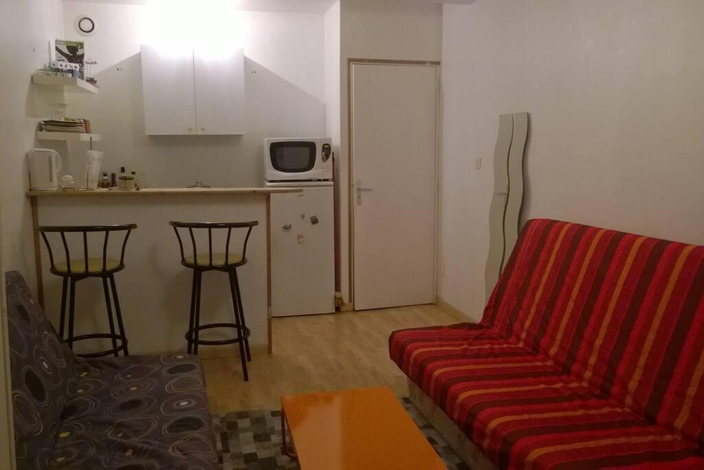 studio sympa louer appartements louer le havre haute normandie france. Black Bedroom Furniture Sets. Home Design Ideas