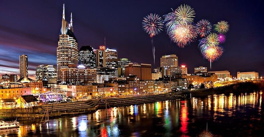 Rent A Car Nashville: Downtown !! No Car Necessary!
