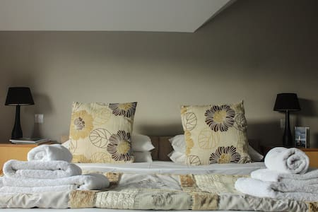 Penthouse loft space with seaviews