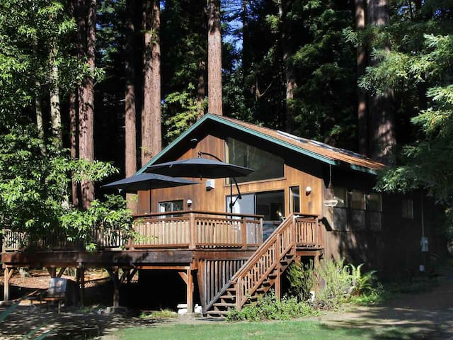 LUCY'S LAIR: Creekfront | Gas Fireplace | Hot Tub - Cazadero - House