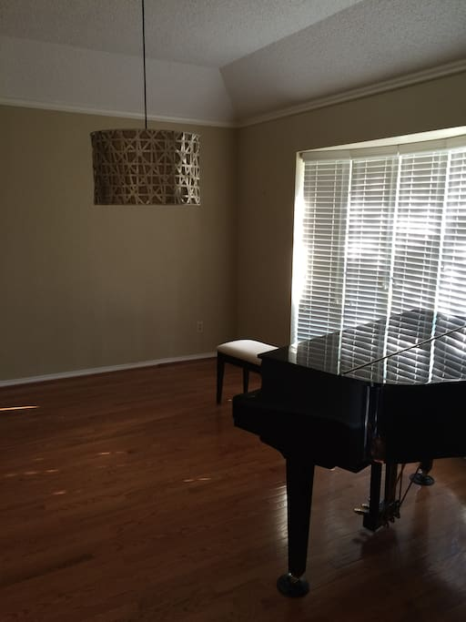 Piano Room in front