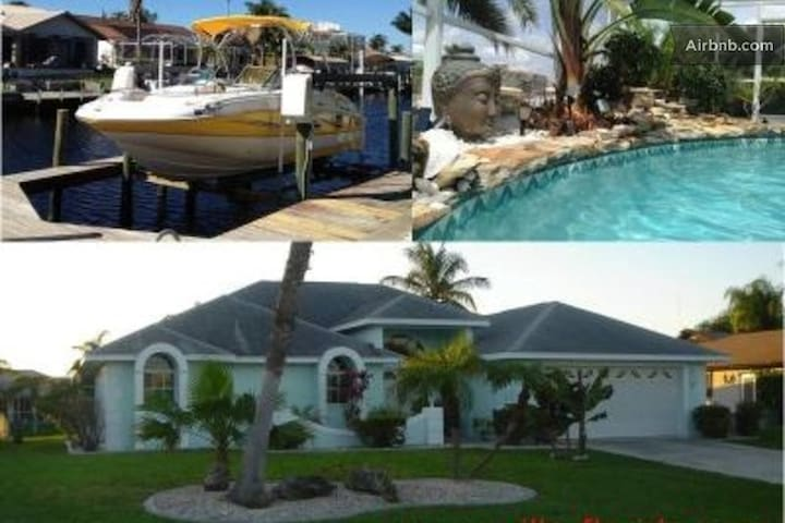 Gulf access Luxury Villa 4 Bedroom - Cape Coral - Villa